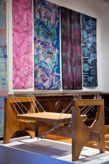 RISD Pre-College. Josh Sowden (Furniture Design); Nico Wu, Samantha Dreibelbis, Ian Wood, Erin Park (Textile Design)